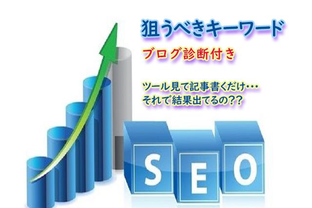 SEO対策!事業ブログ診断+キーワード調査致します。